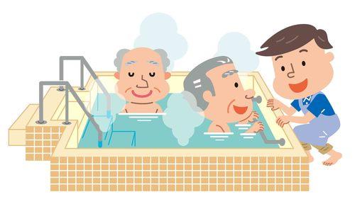 入浴介助の目的・洗い方の手順 8つの注意点