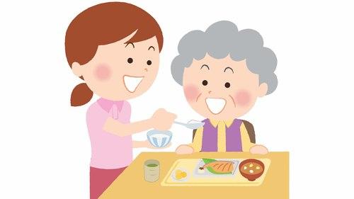食事介助の基本的な姿勢・注意点と麻痺・認知症などの症例ごとのポイントを紹介!