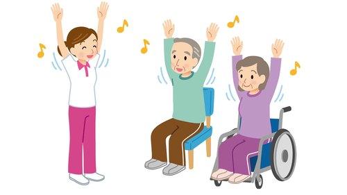 デイサービス体操 全21種|高齢者が椅子に座ってできる運動方法のご紹介