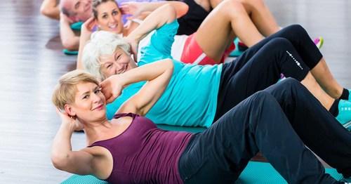 すぐにはじめられる高齢者の体幹トレーニングをご紹介