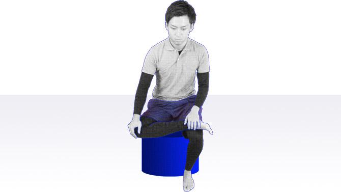 座ってできる個別機能訓練を行おう|下肢のエクササイズ