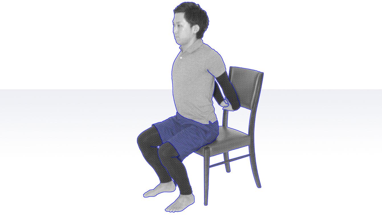 デイサービスで使える運動|胸郭エクササイズ