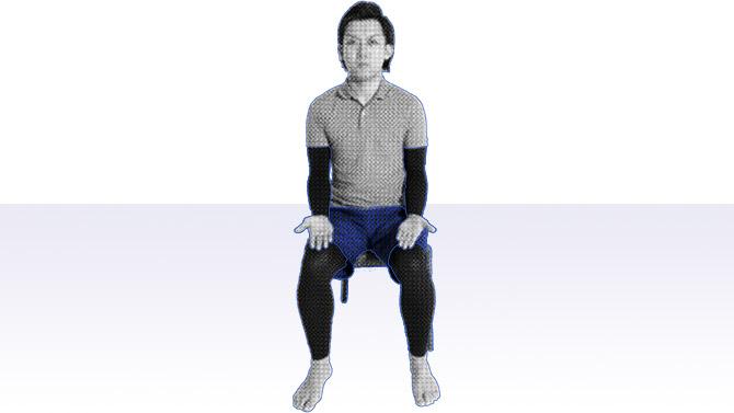 座ってできる個別機能訓練を行おう|腕のエクササイズ