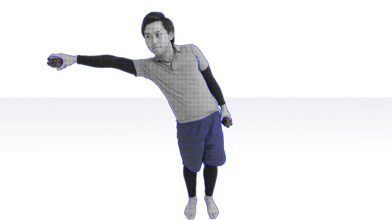 バランス練習 リーチ運動