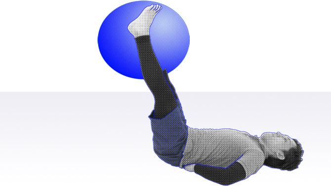 レッグレイズと呼ばれる腹筋の下部の筋力トレーニング2