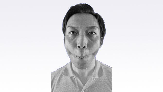 誤嚥性肺炎の予防のためのトレーニング 頬・唇の運動