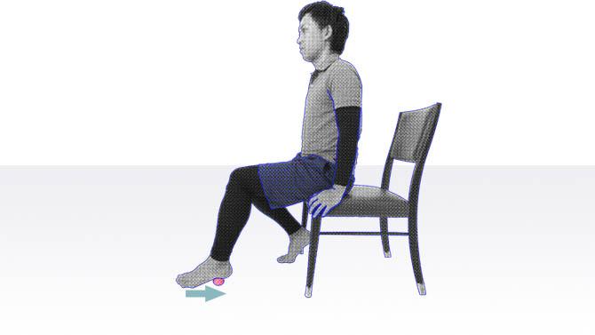 デイサービスで座位でできる体操|足の裏・足の指体操
