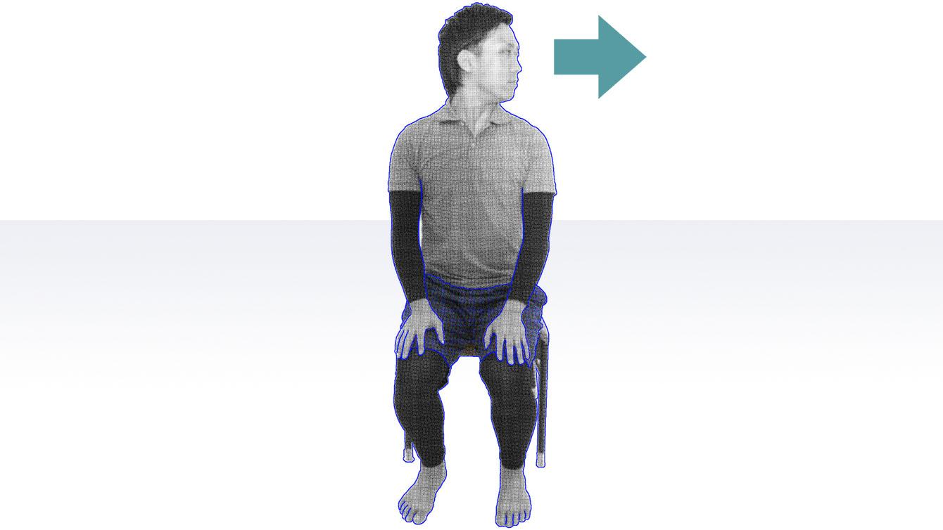 誤嚥性肺炎の予防法としての首のストレッチ・頸部回旋