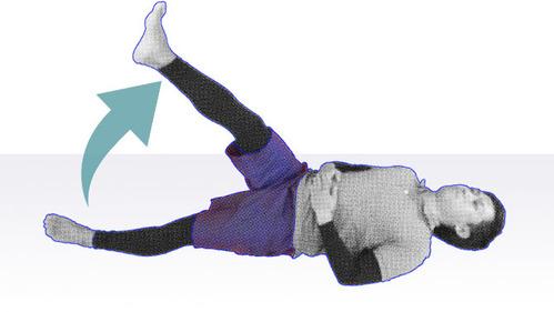 大腿四頭筋・腸腰筋 SLR