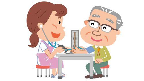 血圧・体温・体調に注意する