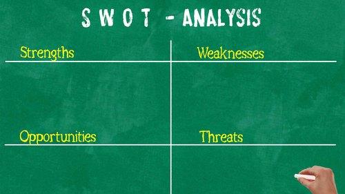 差別化の方法としてSWOT分析